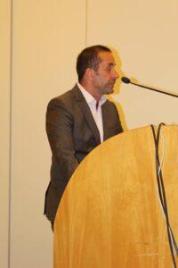 Ο Πρόεδρος της Π.Ε.Δ.Α. και Δήμαρχος Γαλατσίου κ. Γιώργος Μαρκόπουλος
